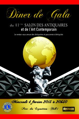 D ner de gala du salon des antiquaires for Salon des antiquaires bordeaux